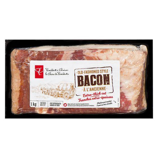 President's Choice Old Fashion Bacon 1 kg President's Choice Couryah