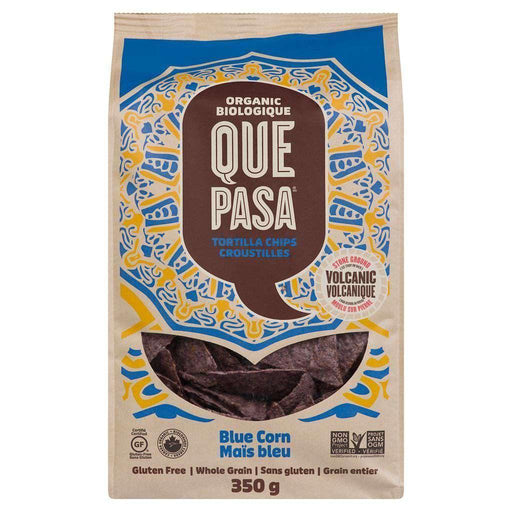 Que Pasa Blue Corn Tortilla Chips 350g Que Pasa Couryah