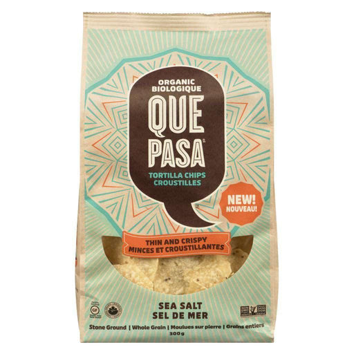 Que Pasa Thin & Crispy Tortilla Chips Sea Salt 300g Que Pasa Couryah