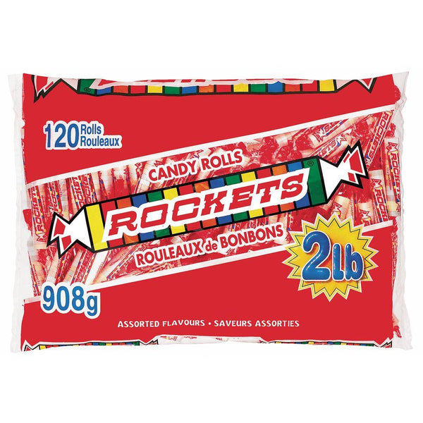 Rockets Candy Rolls 120 Count 908 g