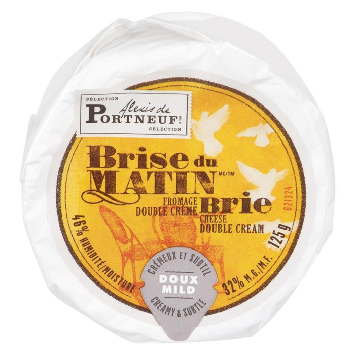 Saputo Brise Du Matin, Double Cream Brie Cheese 125g Saputo Couryah