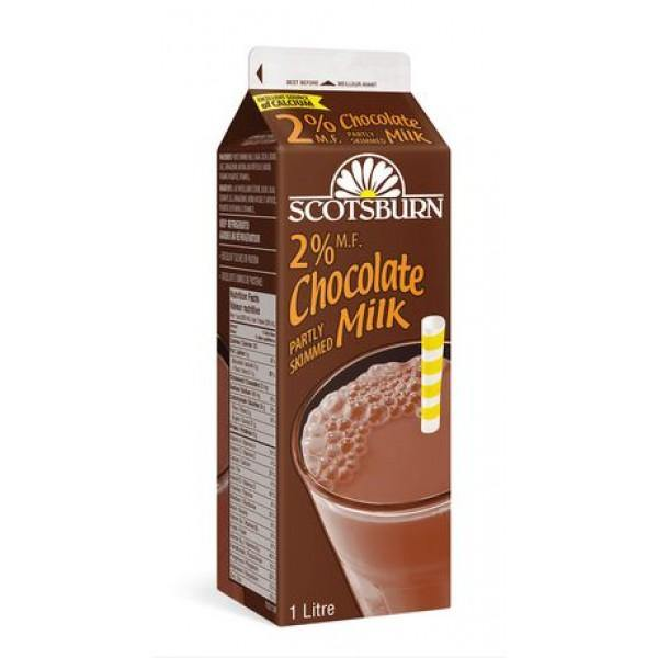 Scotsburn 2% Chocolate Partly Skimmed Milk 1 L Scotsburn Couryah