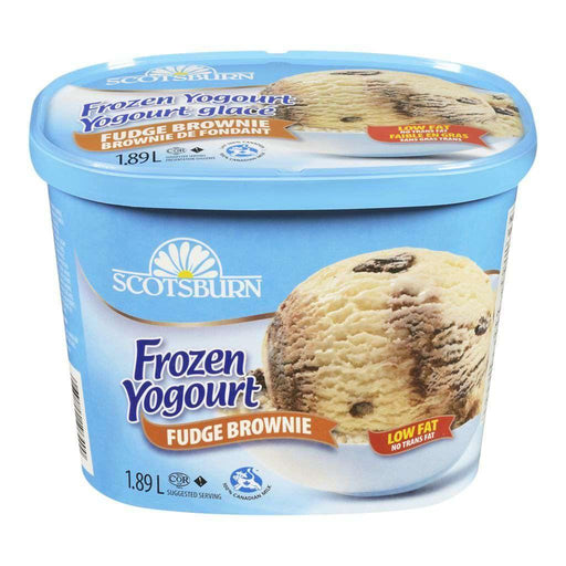 Scotsburn Fudge Brownie Frozen Yogurt 1.89 L Scotsburn Couryah