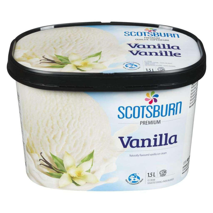 Scotsburn Ice Cream Vanilla 1.5L Scotsburn Couryah