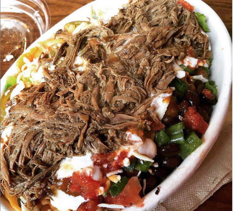 Jax Pulled Pork Burrito Bowl Meal