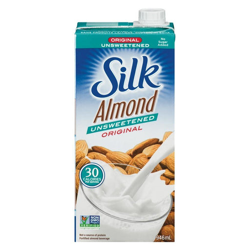 Silk Unsweetened Original Almond Milk 946 mL Silk Couryah