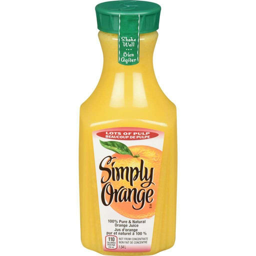Simply Orange Juice with Lots Of Pulp 1.54 L Simply Orange Couryah