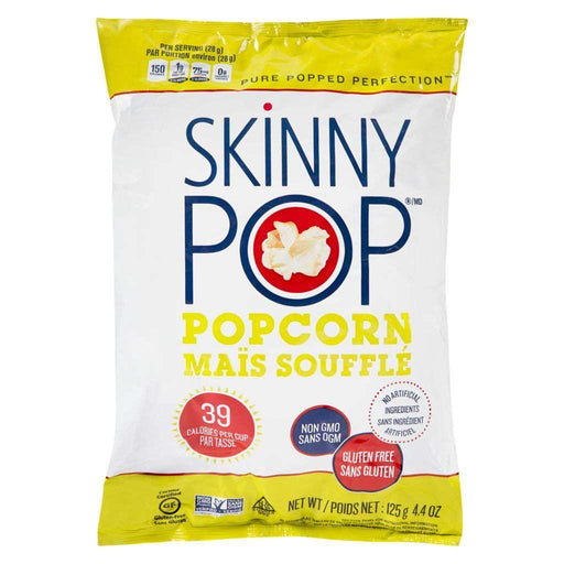 Skinny Pop Popcorn Original 125g Skinny Pop Couryah