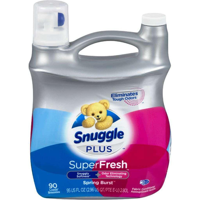 Snuggle Plus Super Fresh Spring Burst Fabric Softener 2.8L Snuggle Couryah