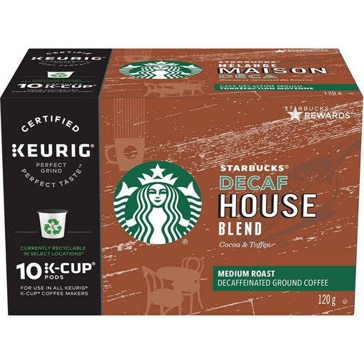 Starbucks Decaf House Blend K-Cup pods 120g Starbucks Couryah