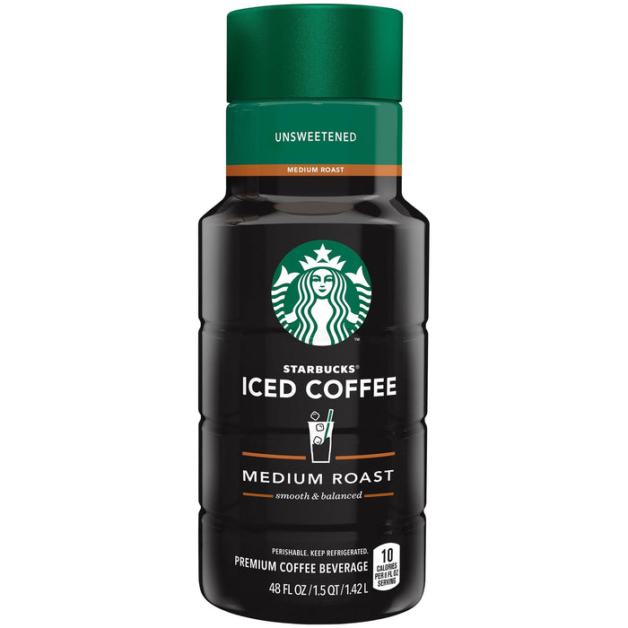 Starbucks Medium Roast Iced Coffee Unsweetened 1.42 L Starbucks Couryah