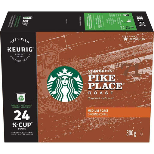 Starbucks Pike Place K-Cup Coffee Pods 300g Starbucks Couryah