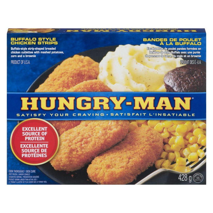 Swanson Hungry-Man, Buffalo Style Chicken Strips 428 g Swanson Couryah