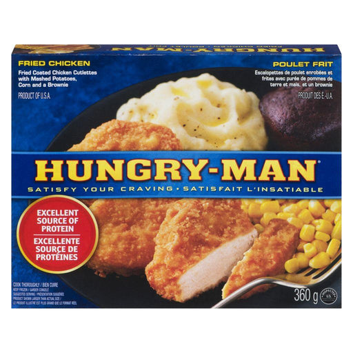 Swanson Hungry-Man, Fried Chicken 360 g Swanson Couryah