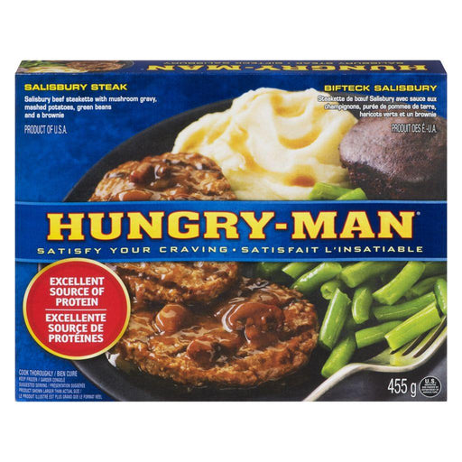 Swanson Hungry-Man, Salisbury Steak 455 g Swanson Couryah