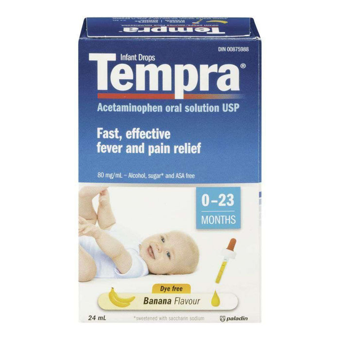 Tempra Infant Drops Banana 24mL Tempra Couryah