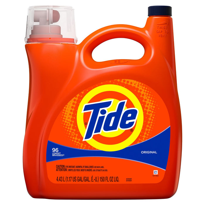 Tide Liquid Laundry Detergent, Original, 96 Loads 4.43L