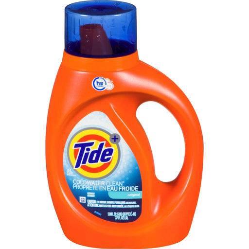 Tide+ Coldwater Clean Liquid Laundry Detergent, 24 Loads 1.09 L Tide Couryah