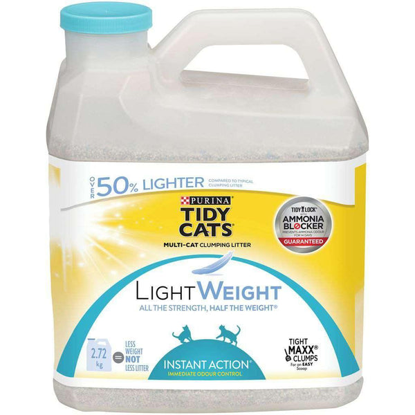 Tidy Cats Lightweight Instant Action for Multiple Cats 2.72 kg