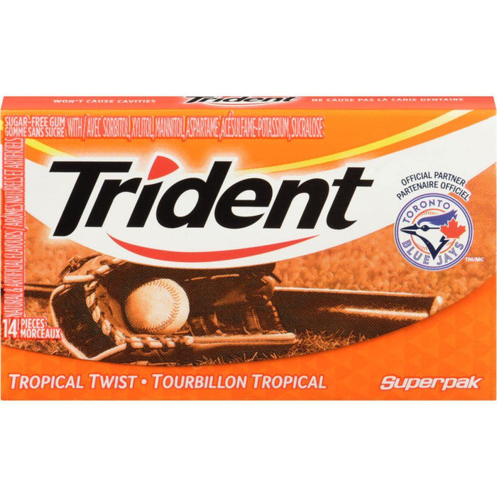Trident Tropical Twist 14 Pieces Trident Couryah