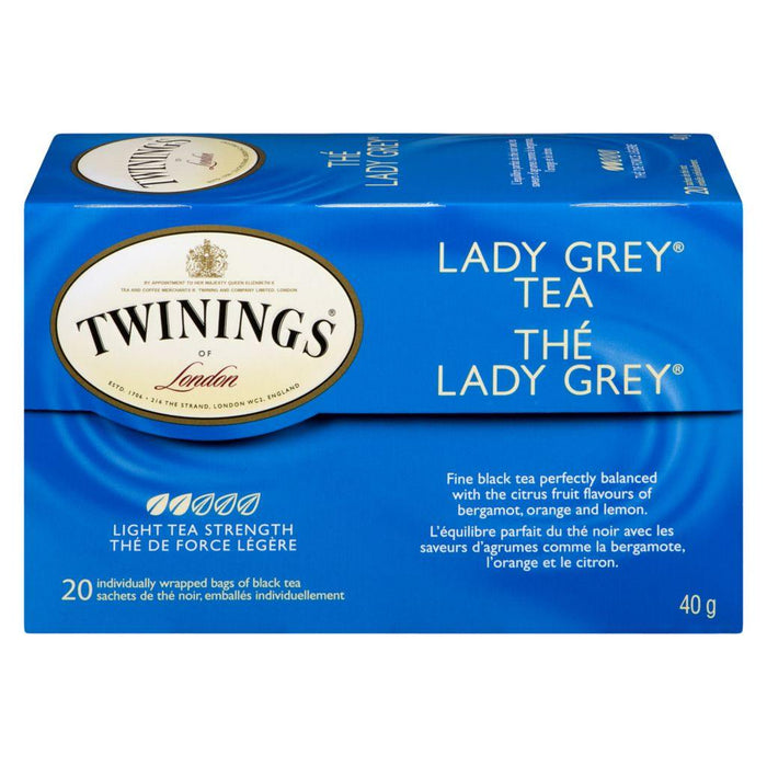 Twinings Lady Grey Tea 20 Each 40 g Twinings Couryah
