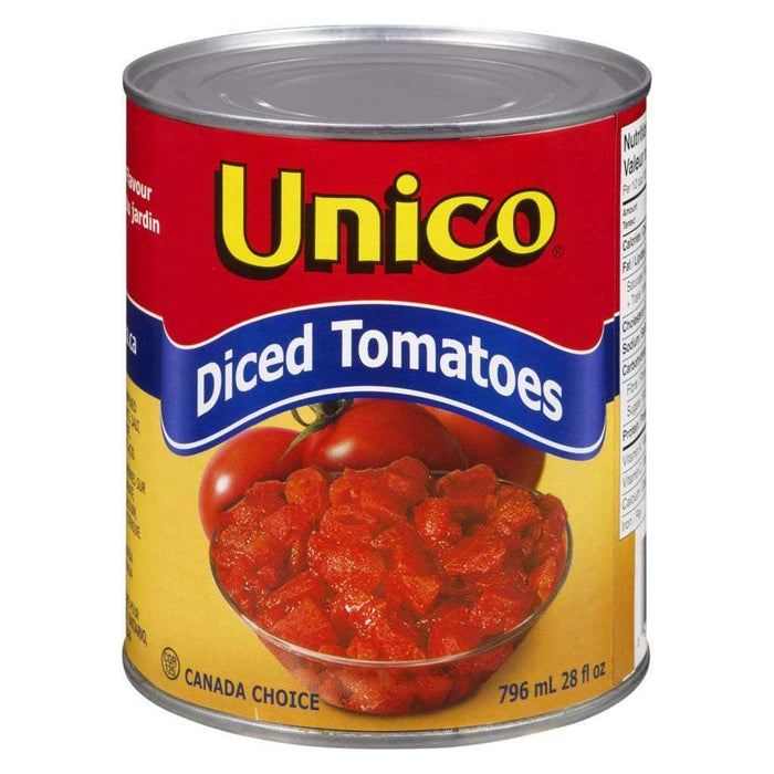 Unico Diced Tomatoes - 796mL Canned Food Couryah