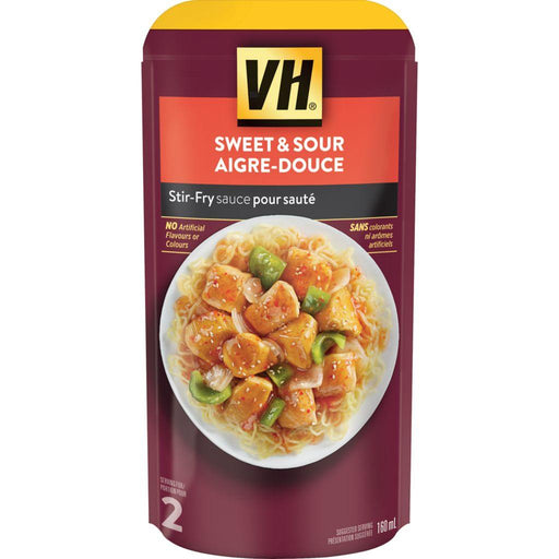 VH Stir-Fry Sauce, Sweet & Sour (2-Serving Pouch) 160mL - COURYAH