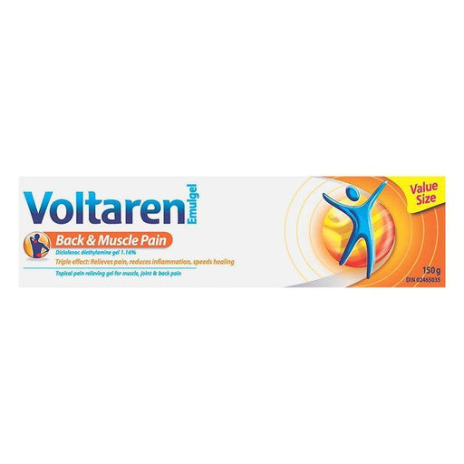 Voltaren Emulgel Back & Muscle Pain Gel, Value Size 150g - COURYAH