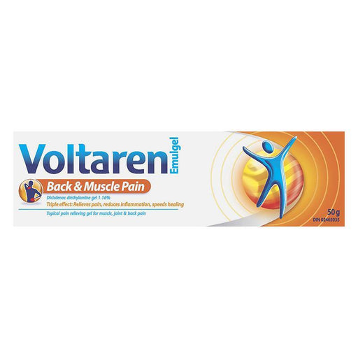 Voltaren Emulgel Back & Muscle Pain Gel 50g - COURYAH