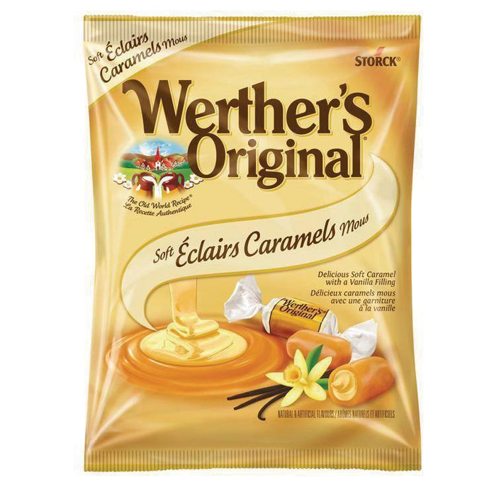 Werther's Original Soft Vanilla Eclairs Caramels Candy 116 g Werther's Original Couryah