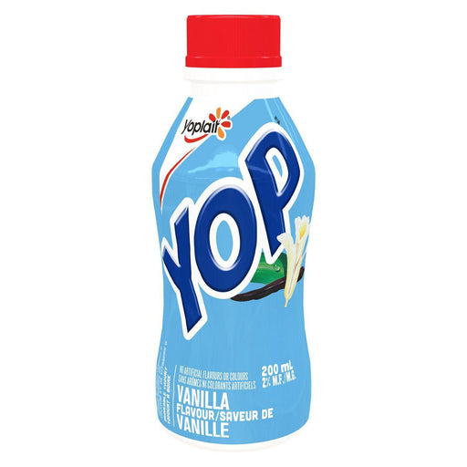 Yoplait Yop Vanilla Drinkable Yogurt 200 mL Yoplait Couryah