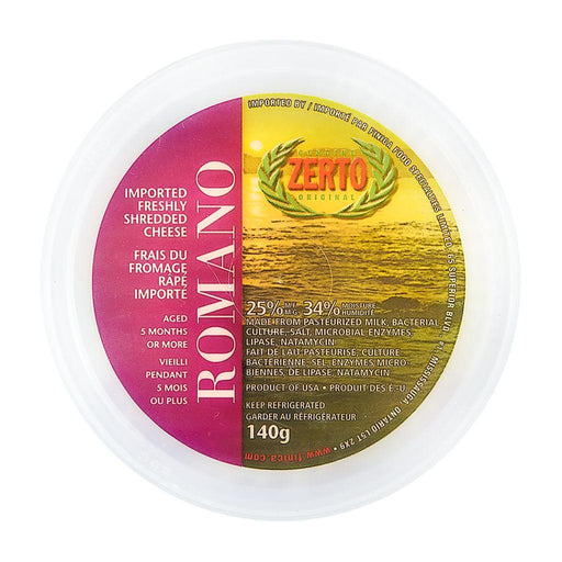 Zerto Shredded Romano 140g Zerto Couryah