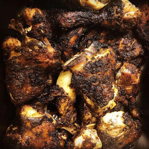 Yaady: Jerk chicken meal Jerk Chicken Brawta