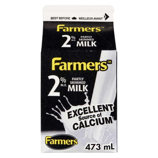 FARMERS 2% MILK 473 mL Farmers Couryah