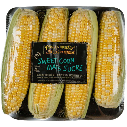 FARMER'S MARKET Corn On The Cob (4 Pack) Farmer's Market Couryah