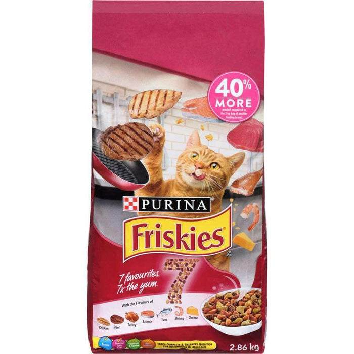 Friskies 7 Dry Cat Food 2.86 kg Friskies Couryah