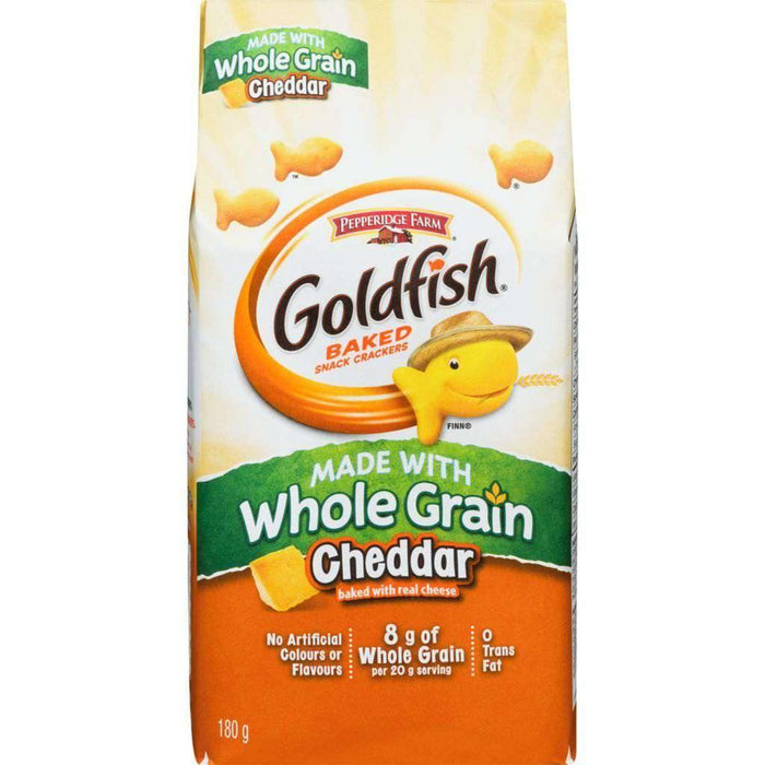 GOLDFISH CHEDDAR MADE WITH WHOLE GRAIN 180 g Pepperidge Farm Couryah
