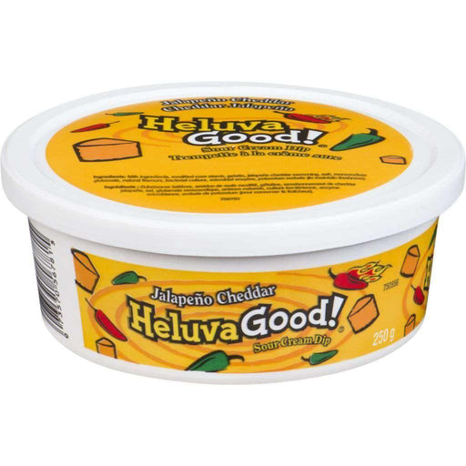 HELUVA GOOD JALAPENO CHEDDAR DIP 250 g Heluva Good! Couryah