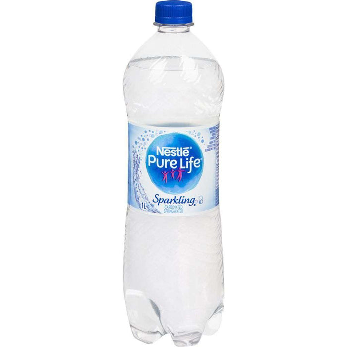 NESTLE PURE LIFE SPARKLING SPRING WATER 1 L Nestle Couryah
