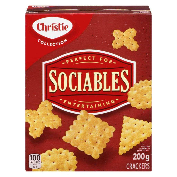 SOCIABLES CRACKERS 200 g Christie Couryah