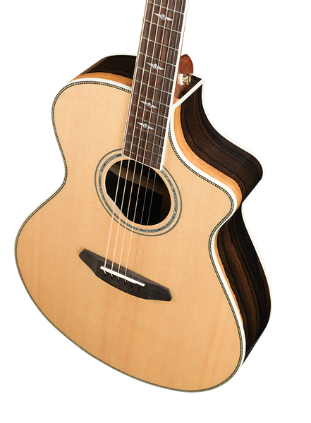 Breedlove Stage Exotic Concert CE / body front