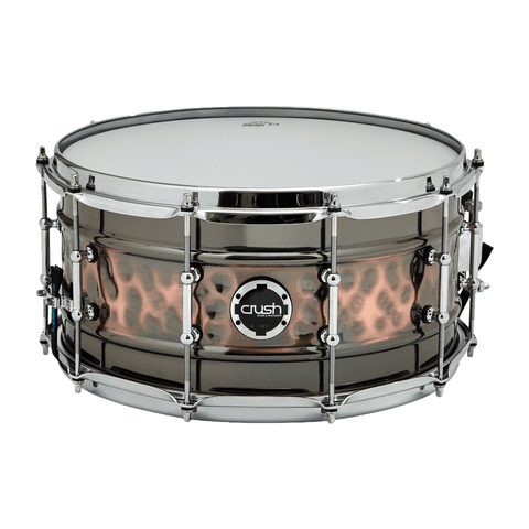 Crush Hybrid Hand Hammered Snare / front