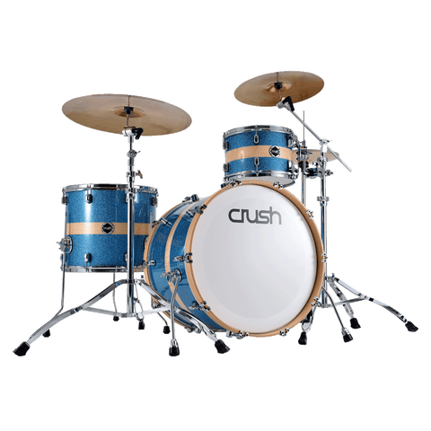 Crush Birch 615 HG BLUE SPKL W/ NATURAL STRIPE