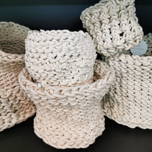 Crochet Planter Small 2 - SALE