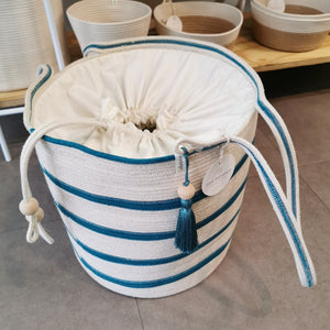 Drawstring Basket - SALE