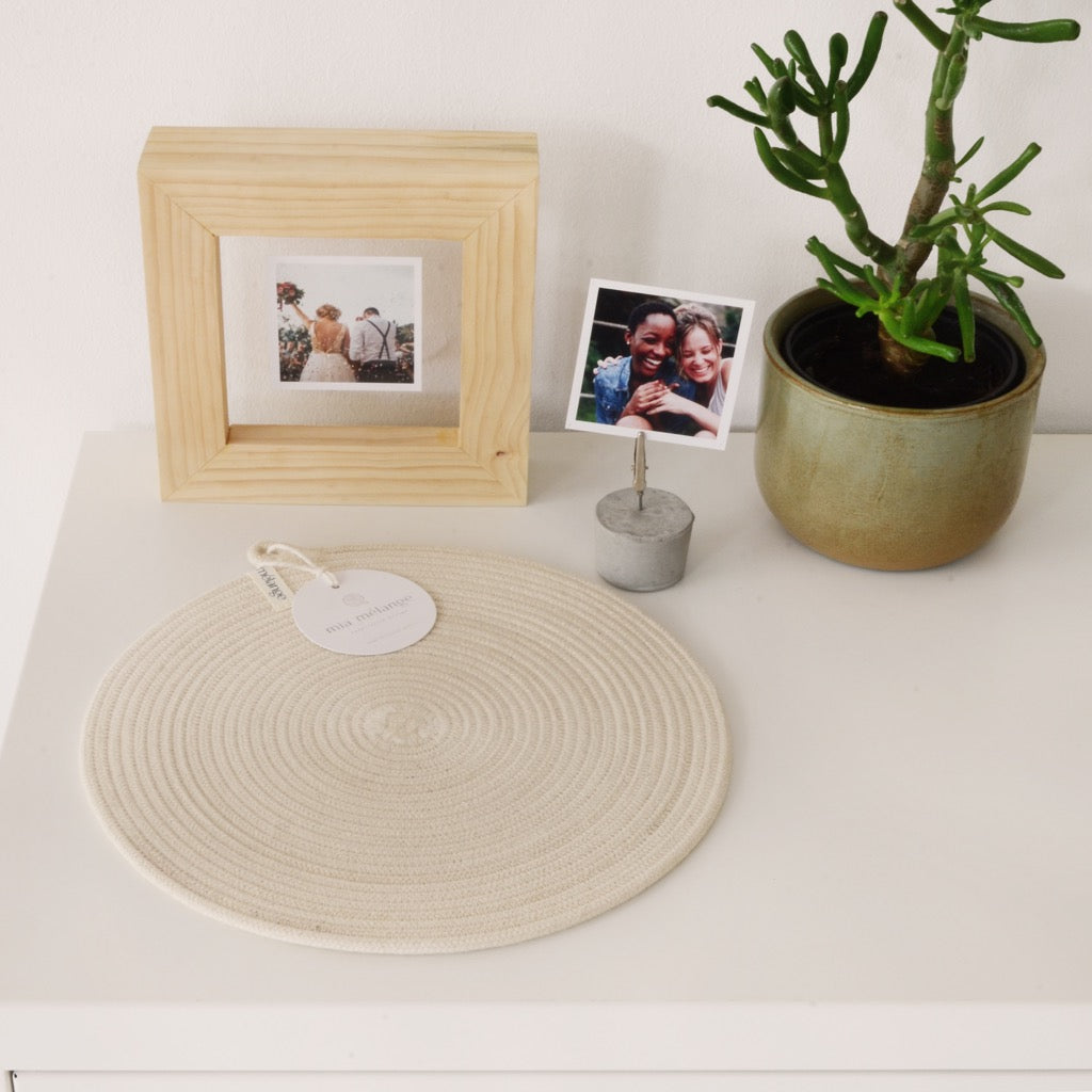 Ivory Placemat Small - SALE