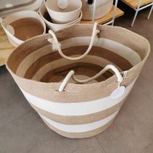 Jute & Ivory Basket Large - SALE