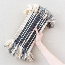 Mane Clutch Black Ikat