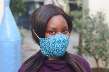 Fabric Face Mask Shweshwe 3 Layer