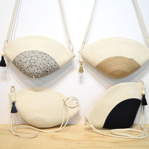 Clam Bag (assorted colours)